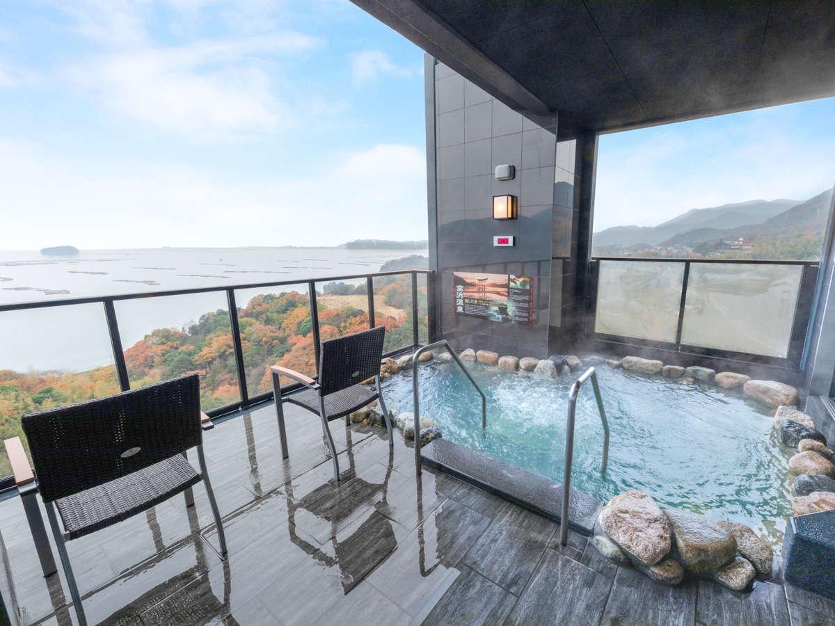 【岩風呂】バイブラ・ジェットで瀬戸内海を見ながらリフレッシュ♪