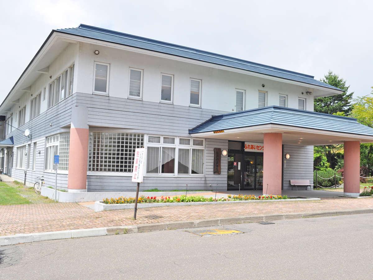 【外観】北海道でもトップクラスの湯量を誇るながぬま温泉へようこそ!