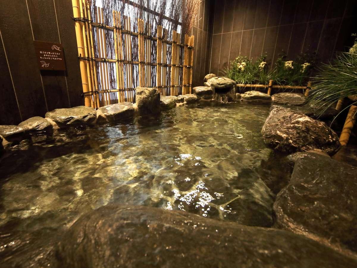 ■岩風呂(外気浴:湯温41~42℃)