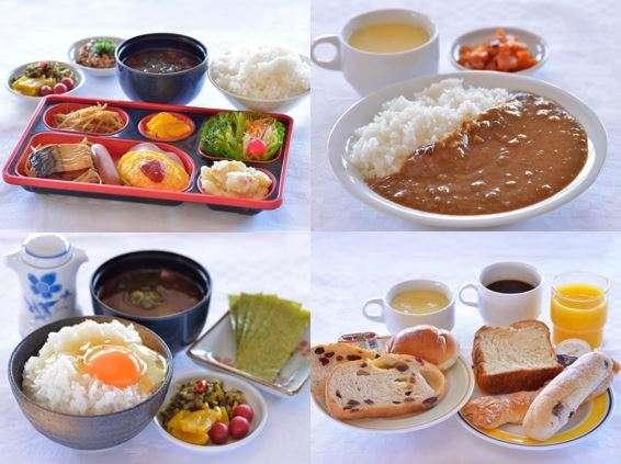 宮崎グリーンホテルの朝食はとってもリーズナブル♪(300~500円)