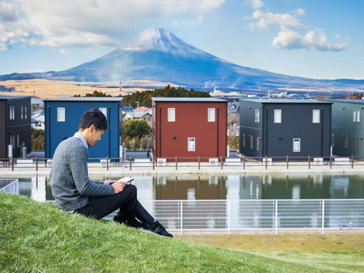 山羊の丘コテージ:絶景富士山を望む癒しのスポット