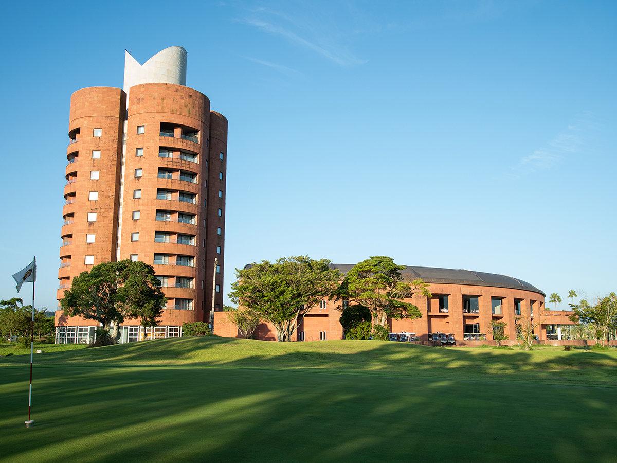 *【外観】世界的建築家黒川紀章氏設計のリゾートホテル。