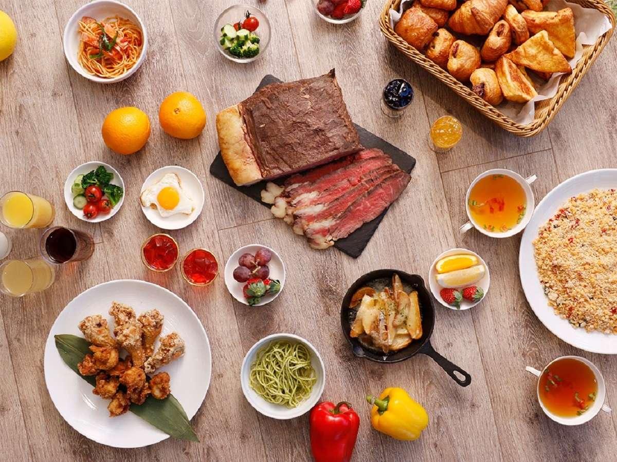 ◇料理長自慢のローストビーフがおすすの朝食ブッフェ