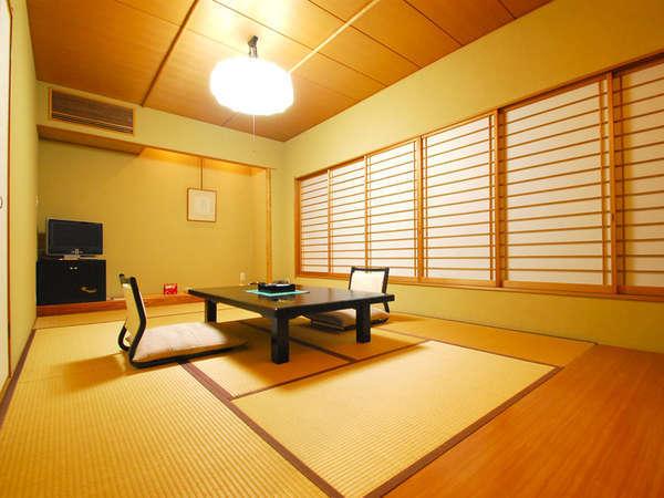 *【憩:和室10畳一例】趣向を凝らした和の佇まいに心かおるお部屋です