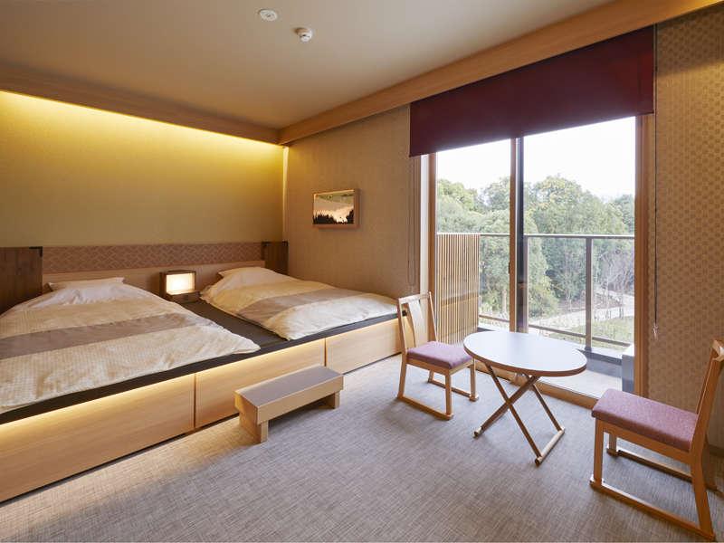 日本昔話をイメージした客室となっています。