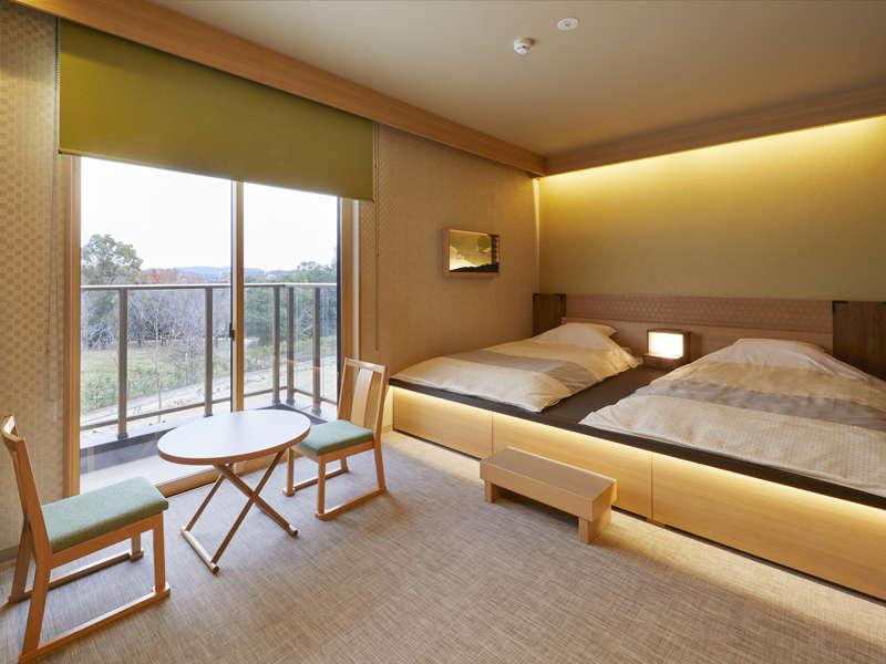 【和室デラックス】日本昔話と日本の伝統をモチーフにしたJAPANESE客室