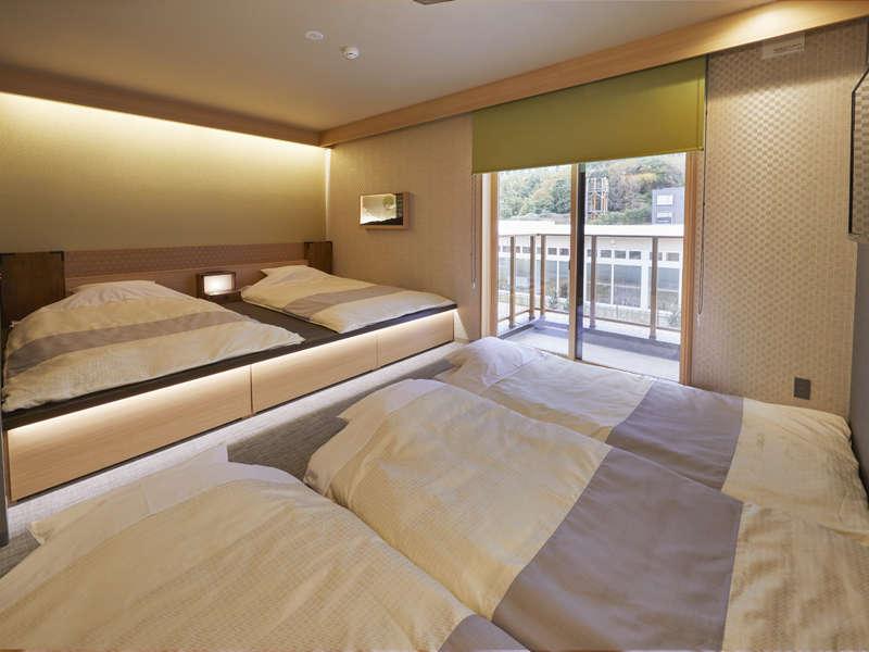 泊まった客室の日本昔話を連想してみて下さい。