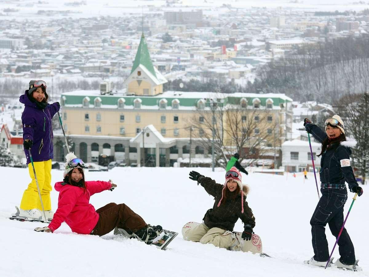 スキー場目の前!スキーするならナトゥールヴァルトに決まり!