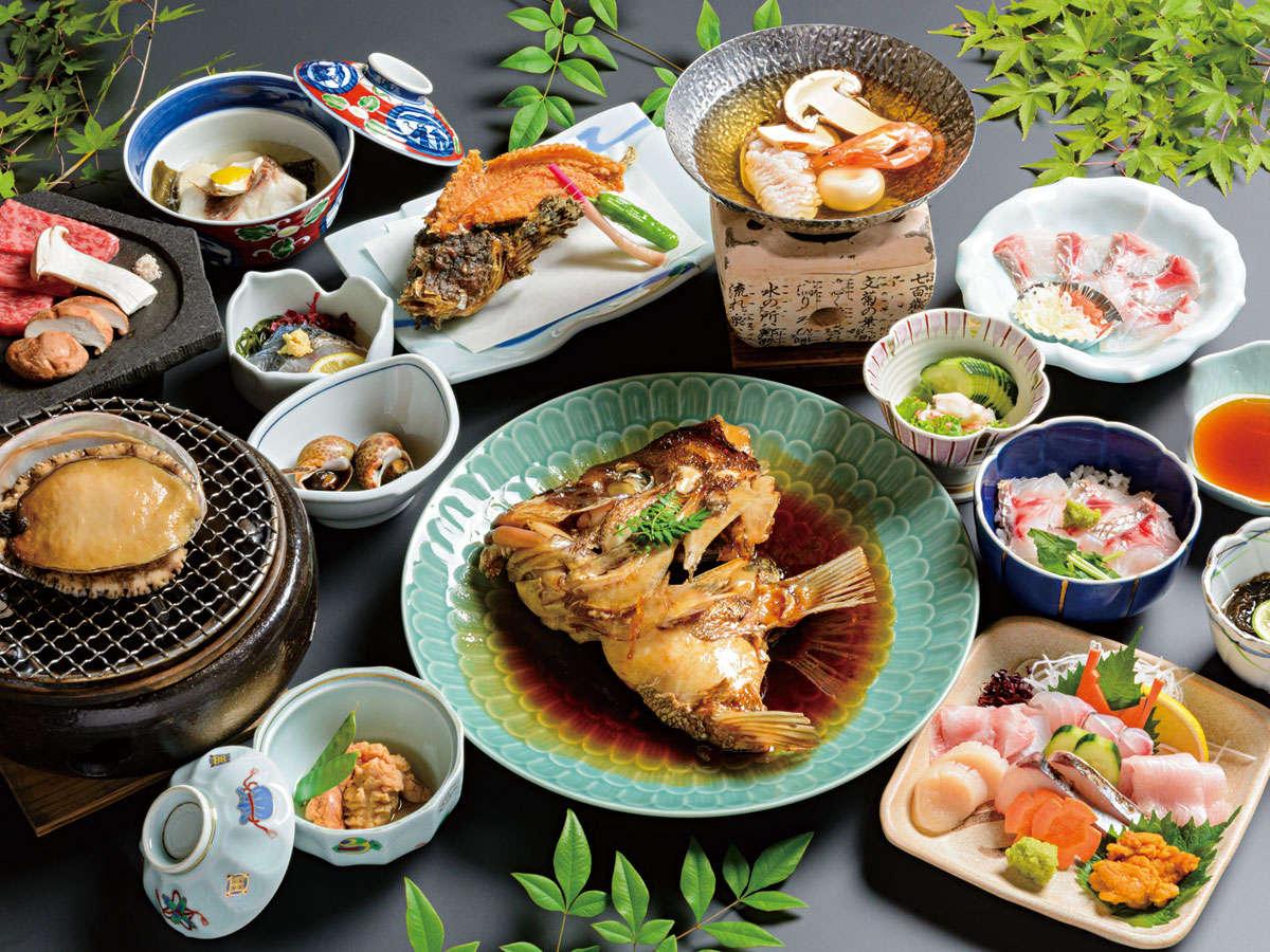 ■料理長 季節のお任せ料理■瀬戸内の旬な食材を彩り豊かな料理でおもてなし【クチコミ 総合4.3 夕食4.5】