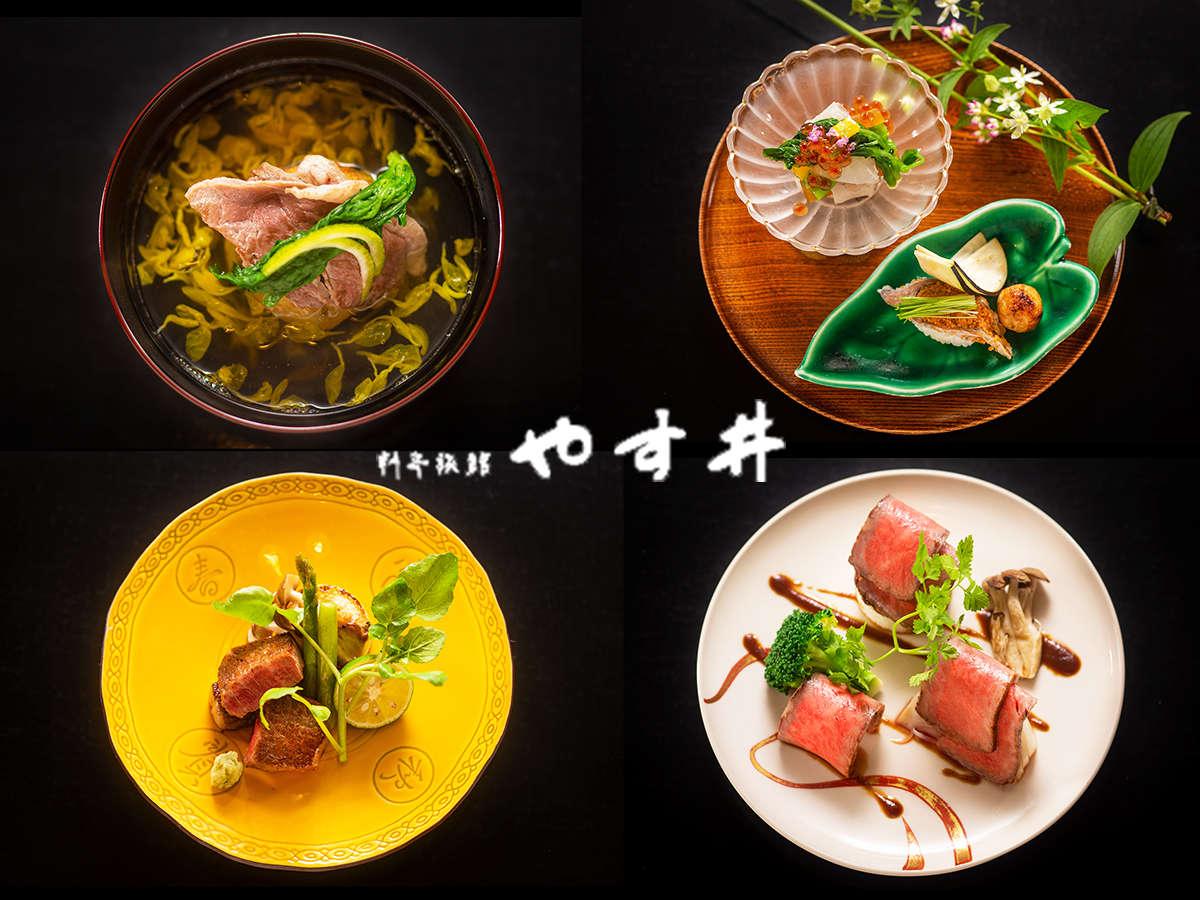 一品一品、想いを込めて。滋賀の良さ・季節感を詰め込んだ目にも楽しめるこだわりのお食事を。