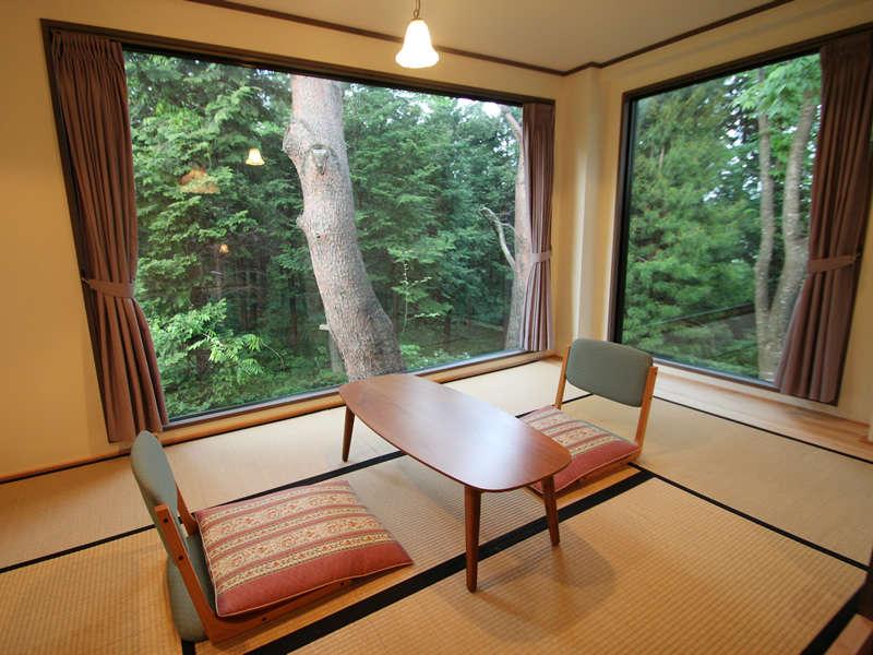 207室【聖夜】は畳のスペースもございます