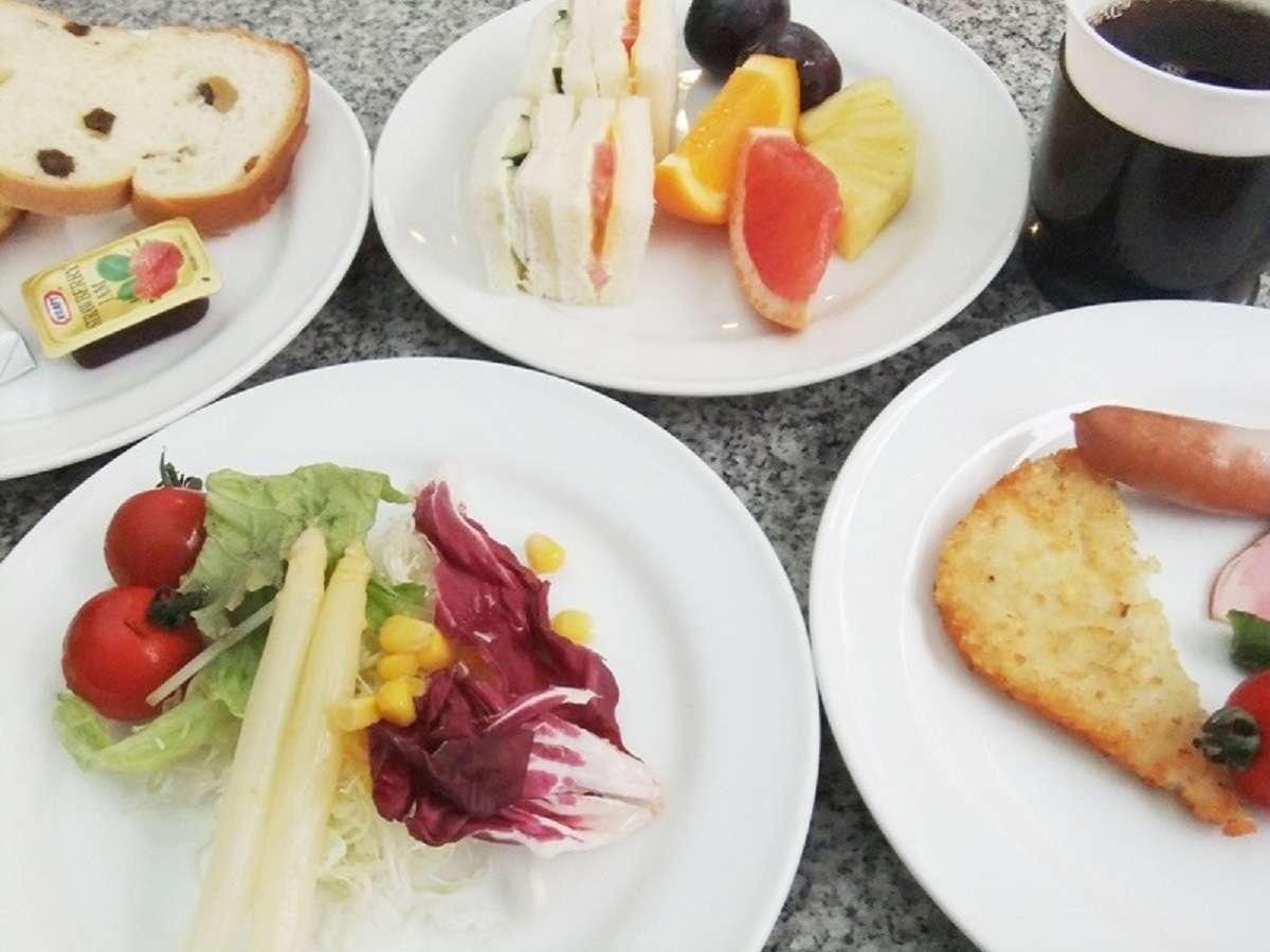 朝食一例(7:00~10:00)和・洋バイキング