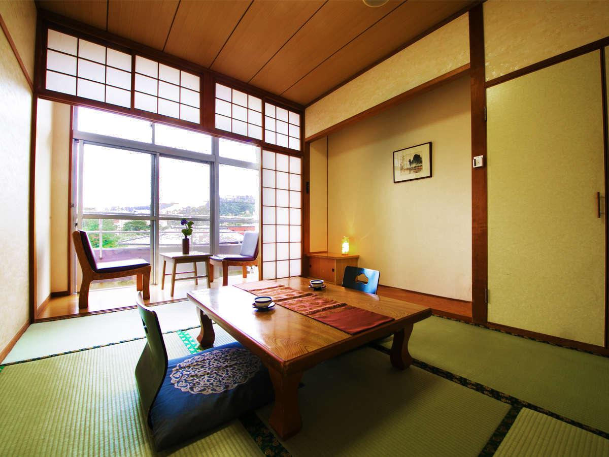 【本館 和室6畳】広縁付きの和室でのんびり屋久島ライフを楽しもう♪