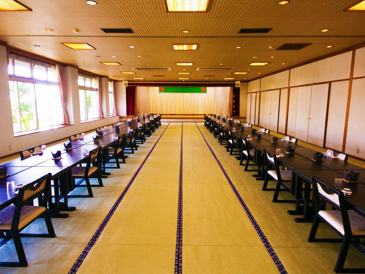 ◆宴会場 白谷◆翡翠色の宮之浦川を望むのどかな時間が流れる♪