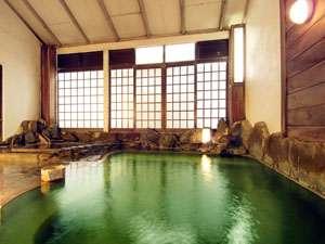 内湯名湯「うなぎ湯」当館が元祖です。