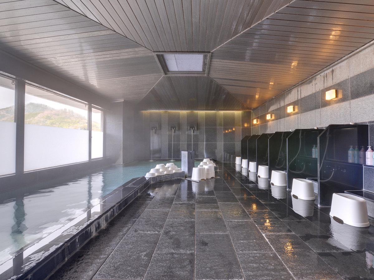 「湯田温泉」の滑らかな泉質は女性に人気