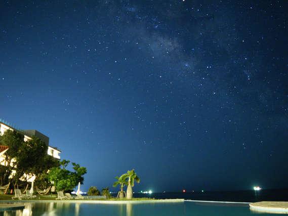 春の南十字星、夏の天の川。。夜はきらめく星を見上げて