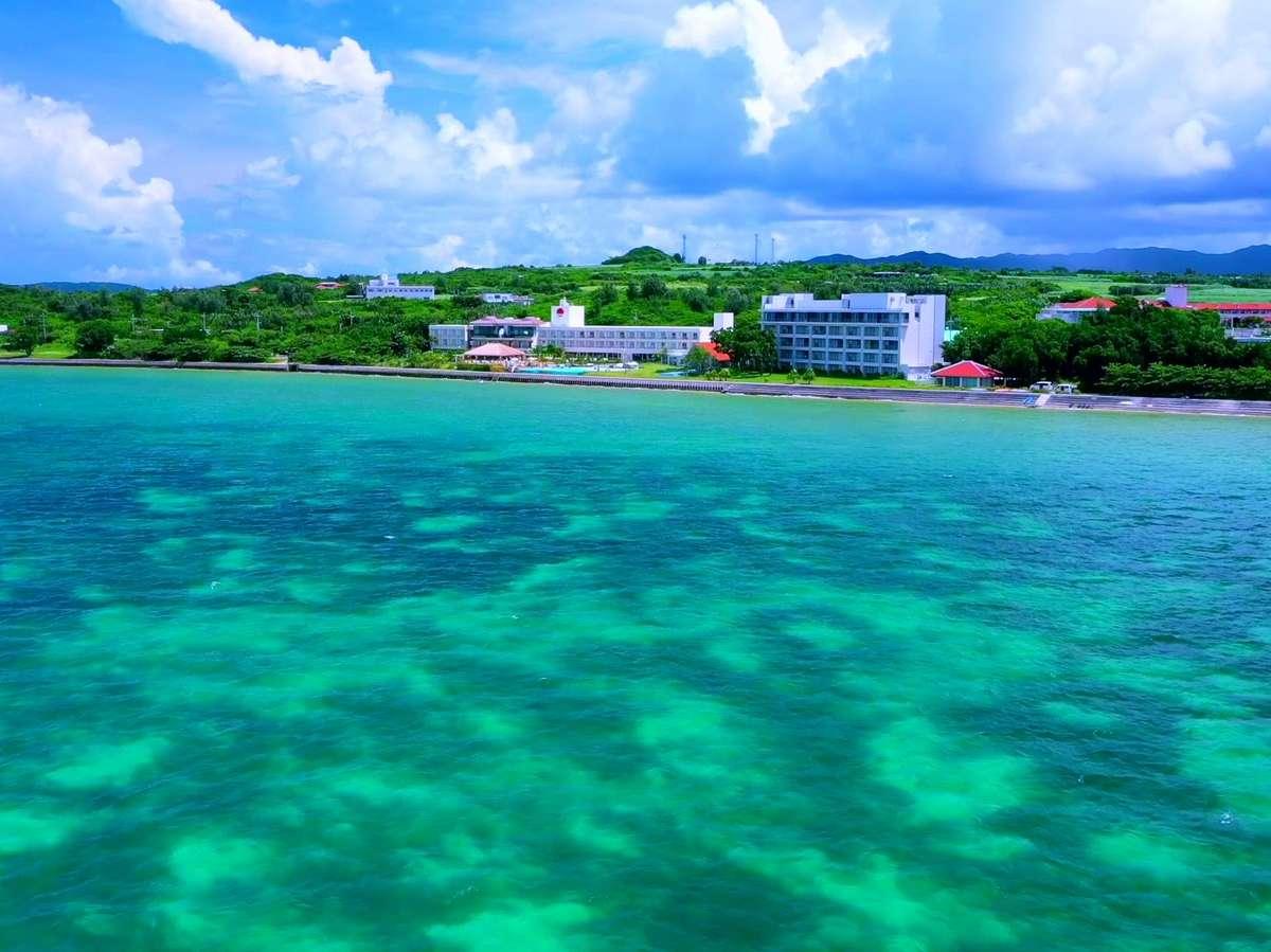 石垣島のオーシャンフロントリゾート
