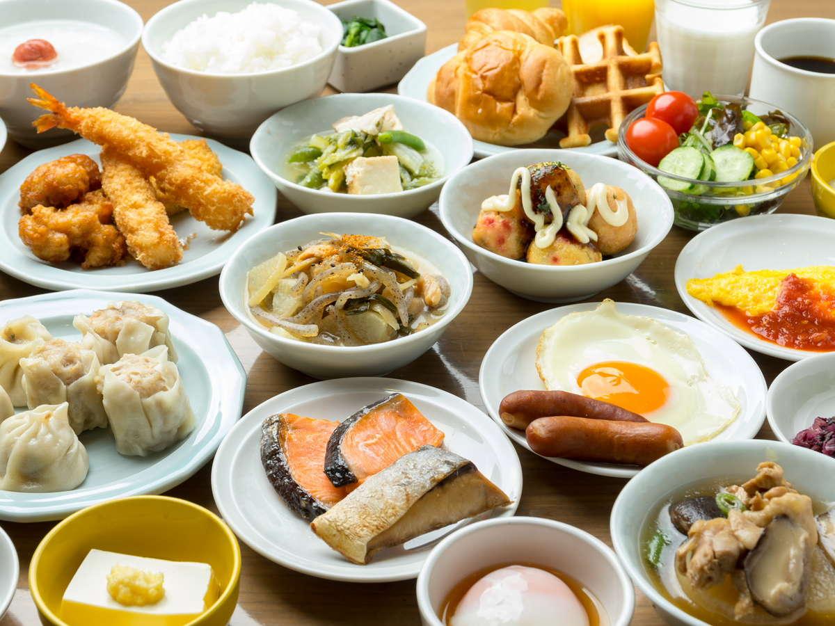 ドーミーイン梅田東 朝食