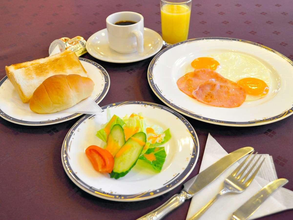 【ご朝食】洋定食一例