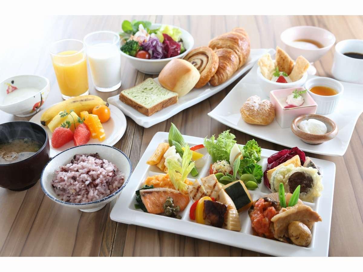 朝食ビュッフェ 6:30~9:40