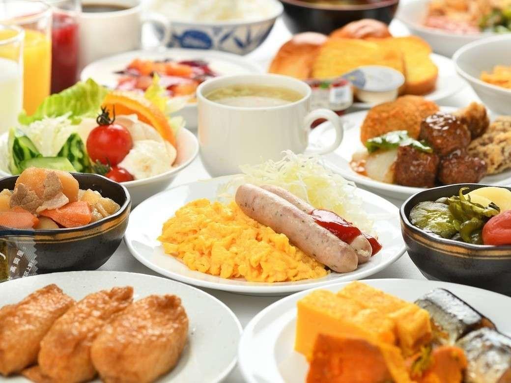 朝食ビュッフェ(現在休止中)