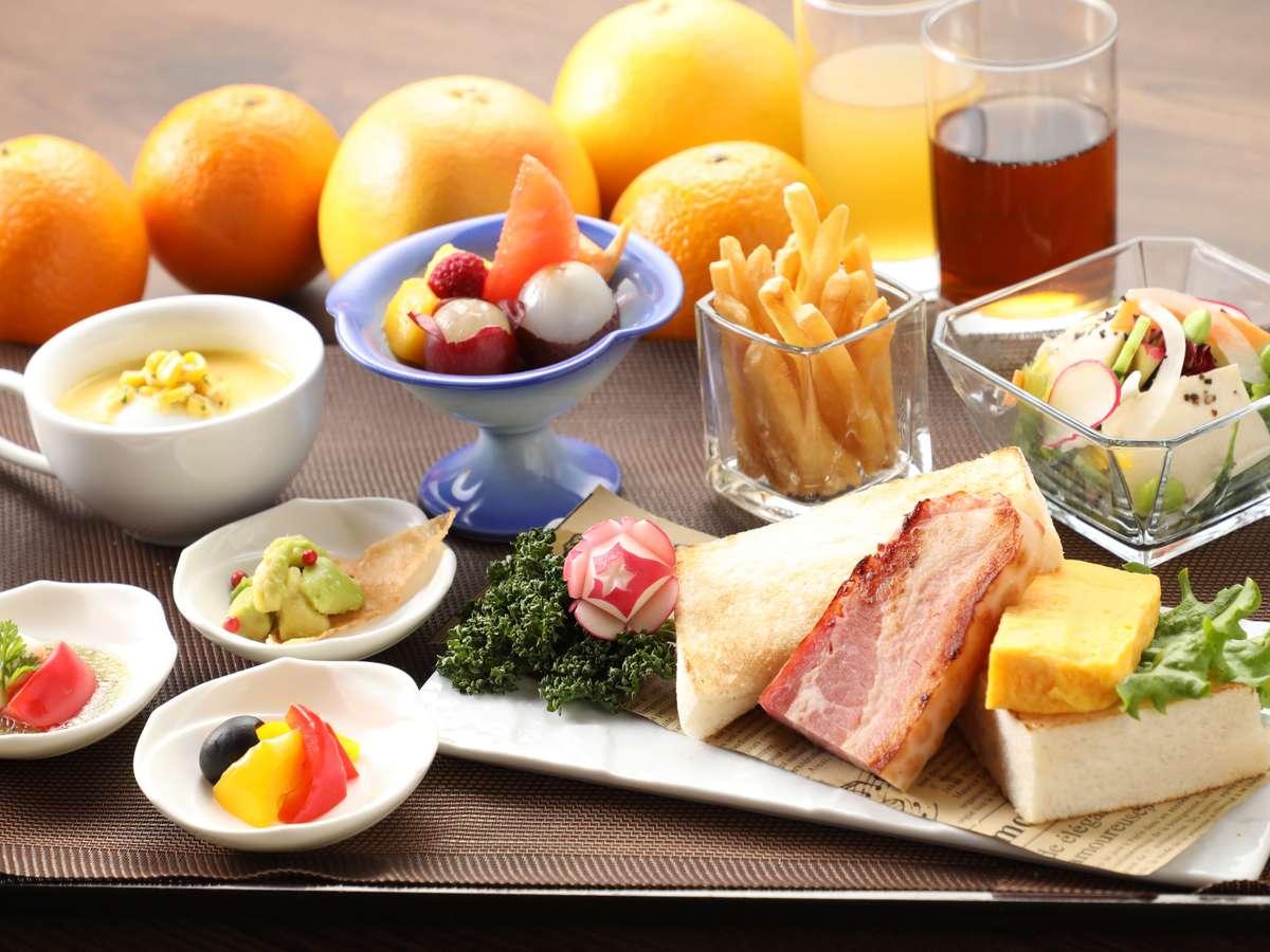 朝食洋食セット