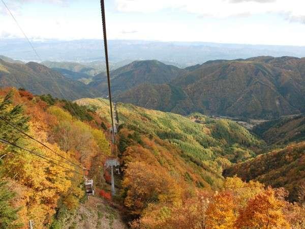 【ヘブンスそのはら】秋の三段紅葉