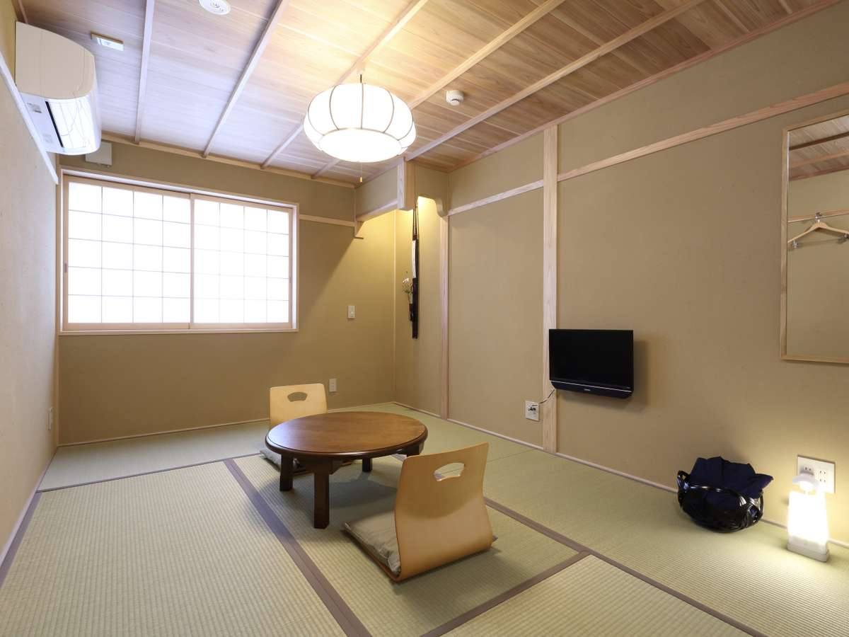 3階のスーペリアルーム8号室『青竹』
