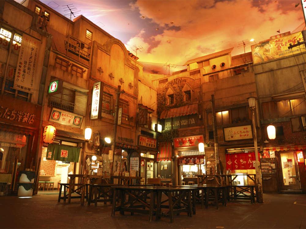 【観光】新横浜ラーメン博物館 ホテルから電車と徒歩で約35分。全国各地のラーメンが食べられる。