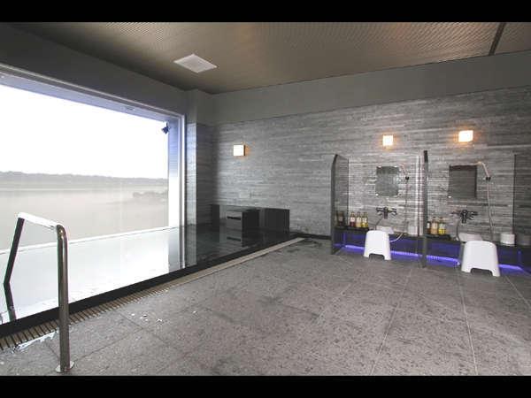 新しくオープンした大浴場『にじの湯』