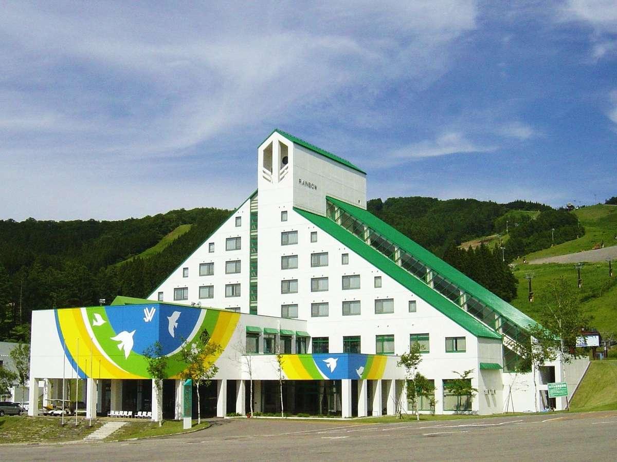 標高900mの爽やかな高原ホテルです