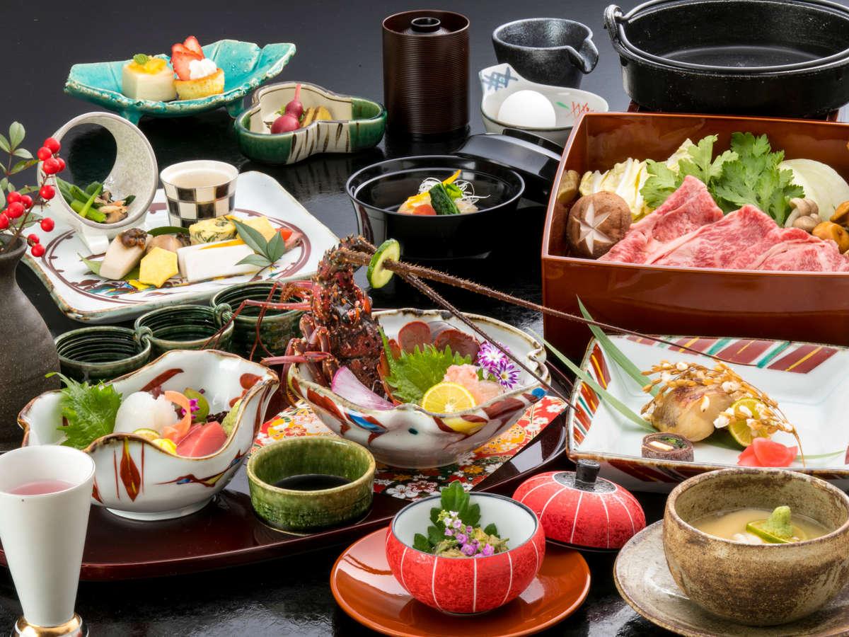 ご夕食一例※料理内容、器が異なることがございます。