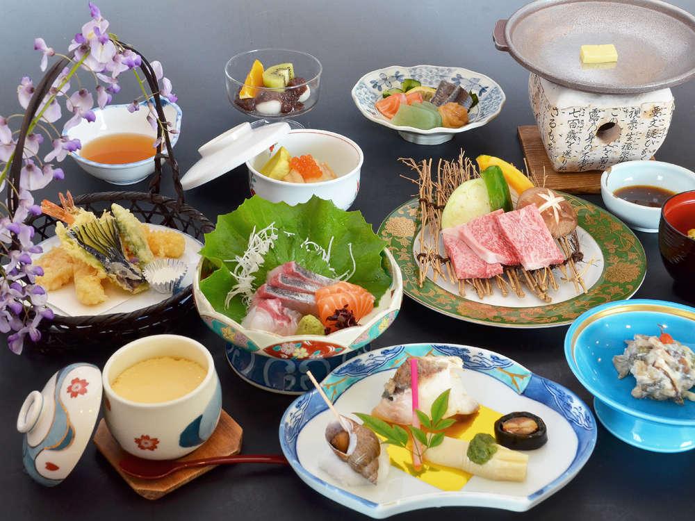 【一般会席】料理プラン以外の一般の会席です。季節ごとに内容は変わります。