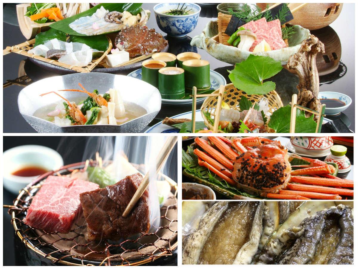 """【春色会席""""青雲""""】春の食材をさまざまに散りばめます。旬の食材を御堪能ください。"""