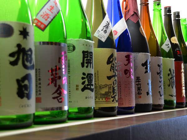 佐賀のお酒を中心に全国各地のうまい日本酒が揃います!