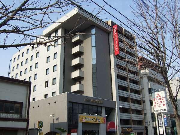 【外観】ホテルハミルトン札幌の外観☆