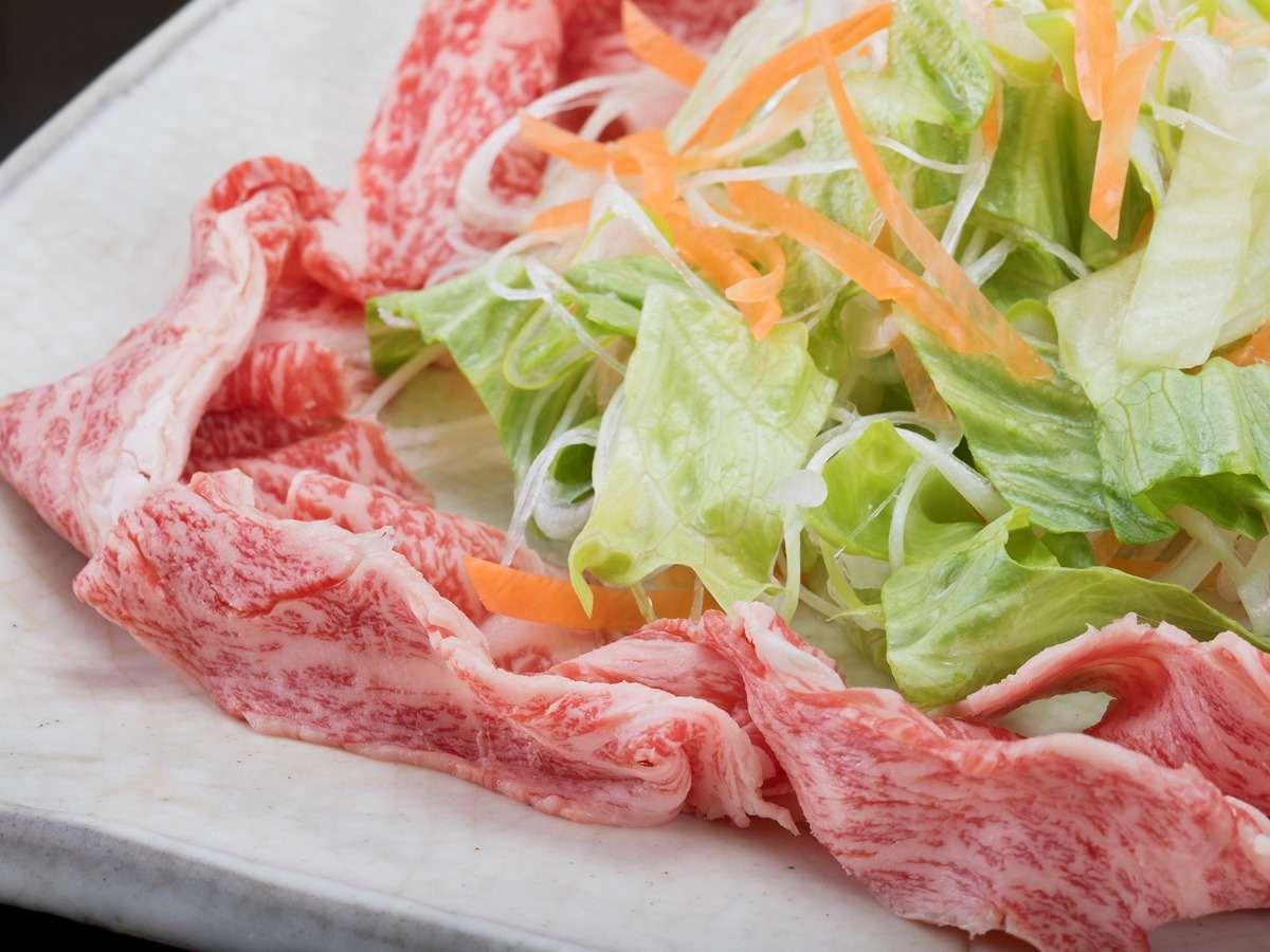 最上級ブランド牛「佐賀牛」の繊細な味覚は格別です。