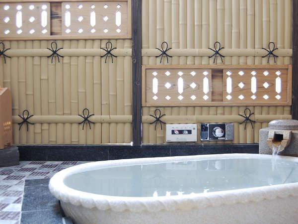 陶器の貸切露天風呂