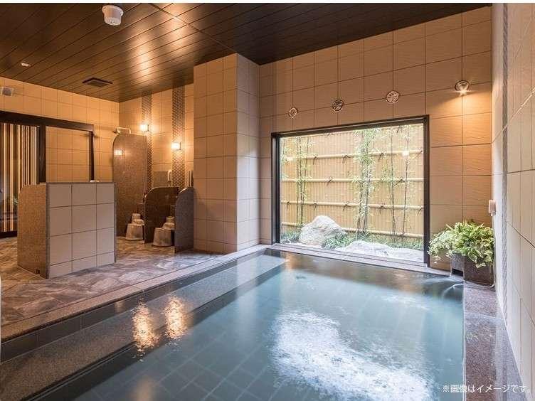 【人工温泉大浴場「旅人の湯」】ご利用時間⇒15:00~02:00、05:00~10:00