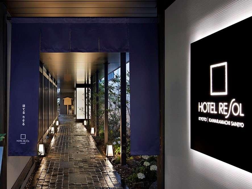 外観/ホテルは2018年にOPENし沢山の方々にご来館を頂いております