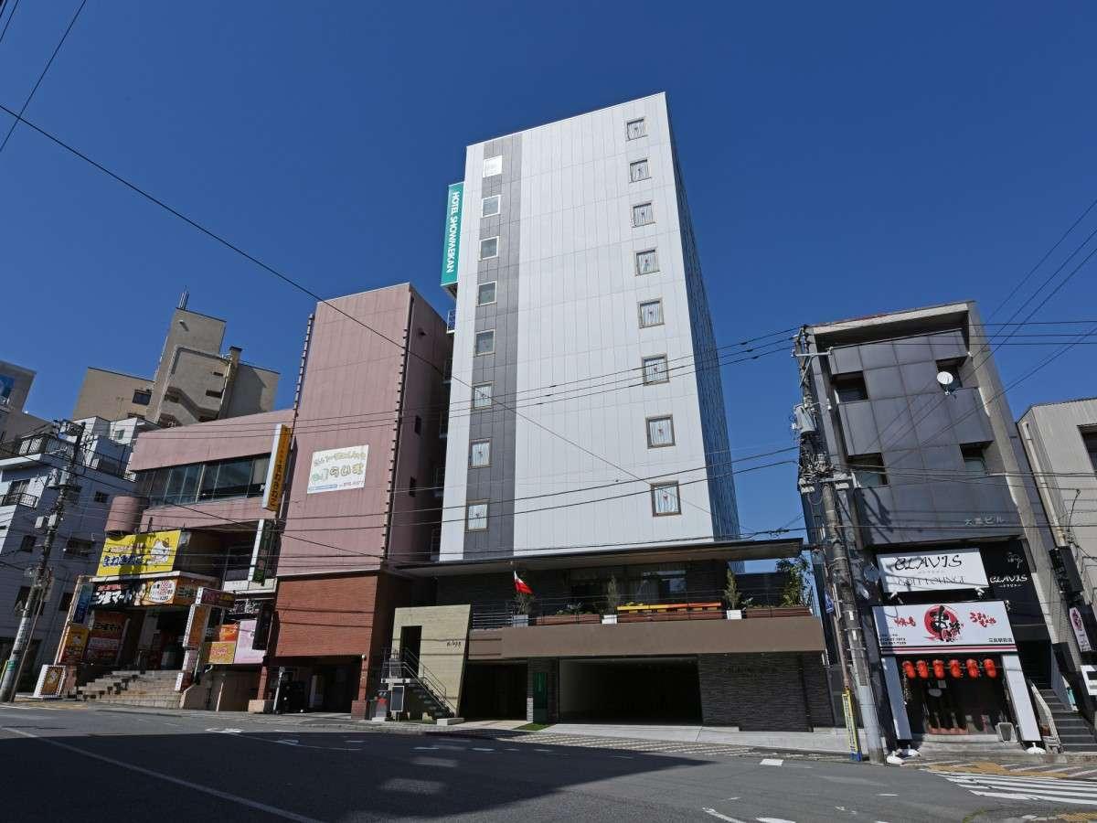 ≪ホテル全景≫東名・新東名高速道、伊豆縦貫道からも近く、お車での移動も大変便利。
