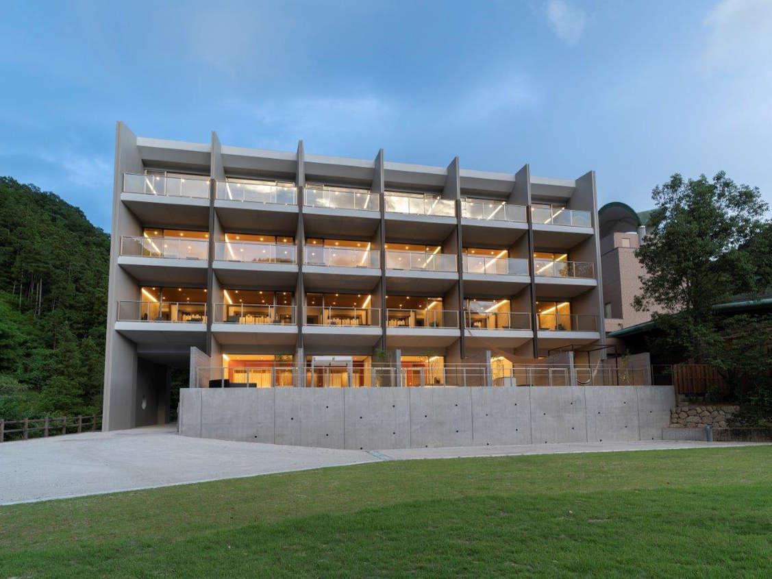 【平成30年7月10日完成・新宿泊棟「にしかわ館」】各階異なるテーマう、屋上には天文台も新設