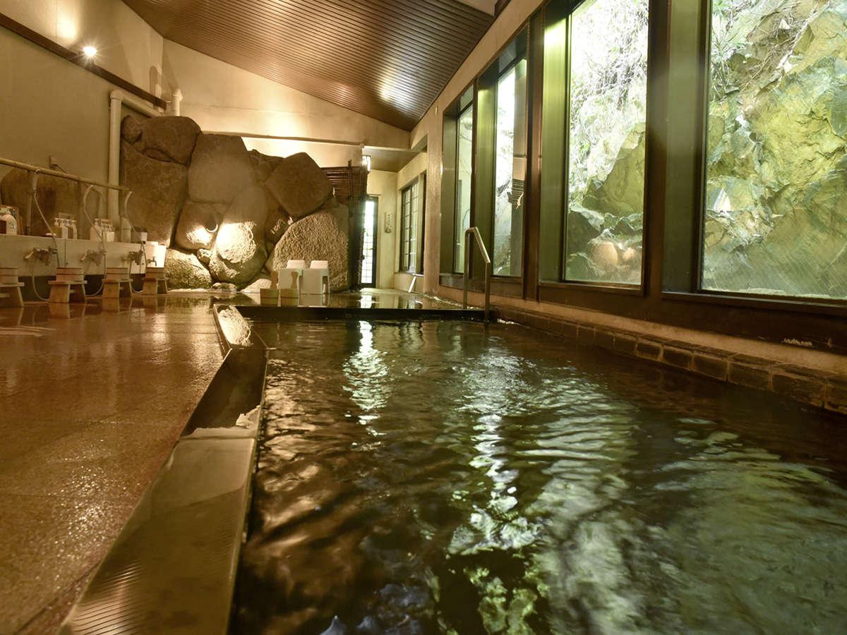 女性大浴場「離れの湯」内風呂