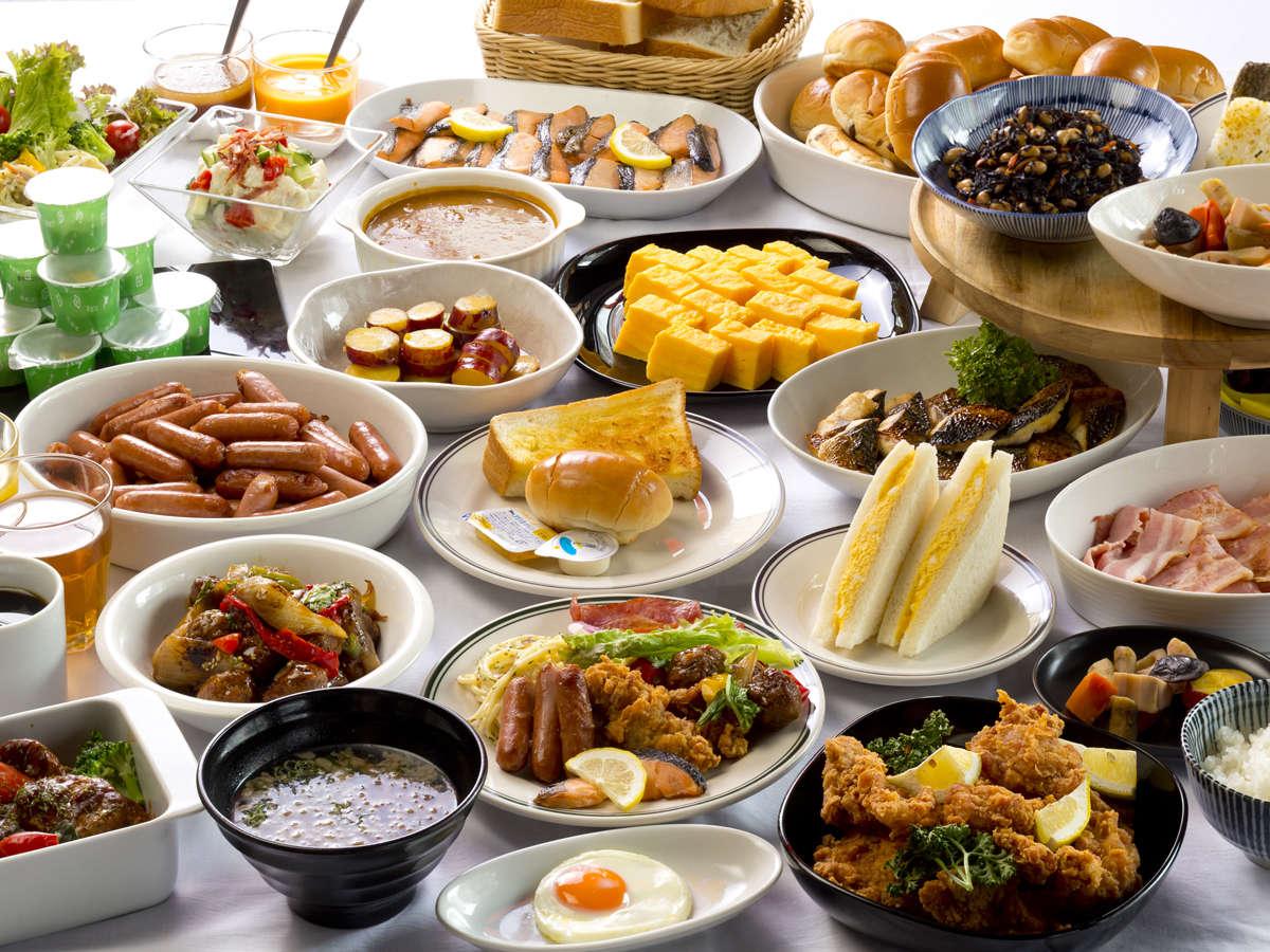 【朝食バイキング】ヘルシーな食材をバランスよくをモットーに 健康的な朝を後押し致します!!