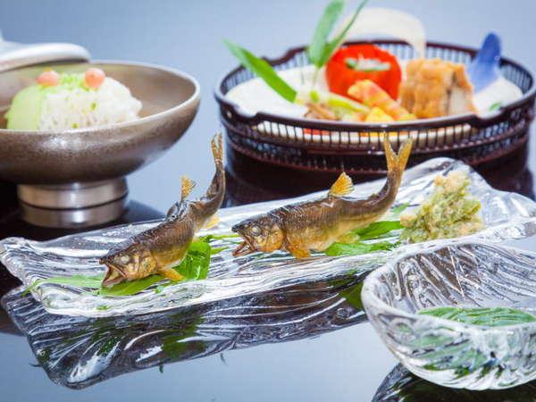 夏の京懐石料理一例