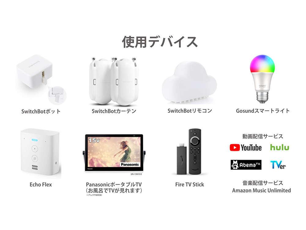 様々なデバイスが使用可能:スマートルーム<デラックスツイン>