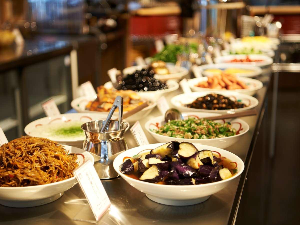 【ホテル・朝食】和洋食のビュッフェメニューおふくろの味