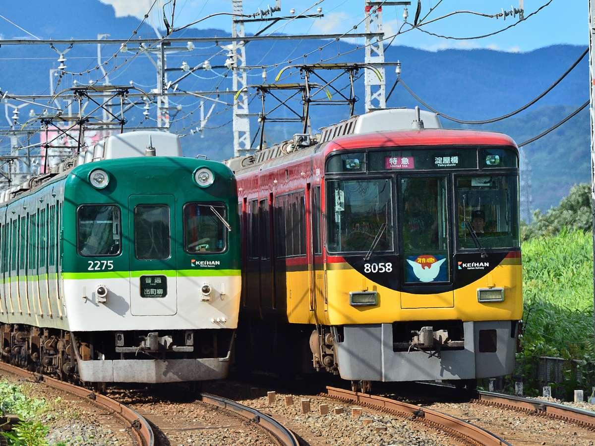 【大阪・観光】京都へ行こう! 京阪電車がありますので、京都までもアクセス抜群なのです!
