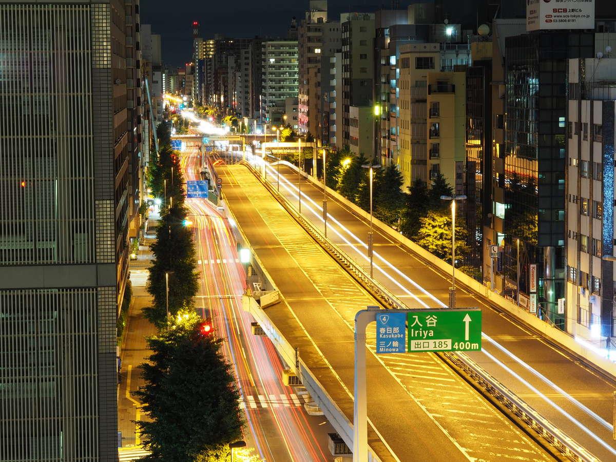 ◆当館からの首都高速の眺め